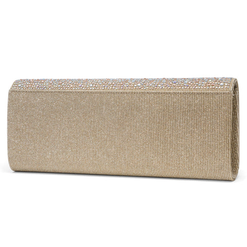 Mackenzie Sparkle & Shine East West Clutch Beaded