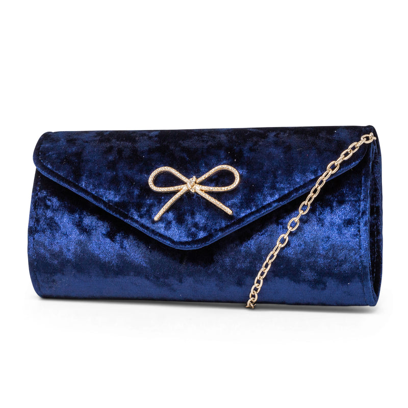 Liliana Velvet Envelope Clutch