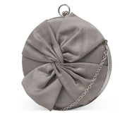 Vivianna Circle Bow Clutch