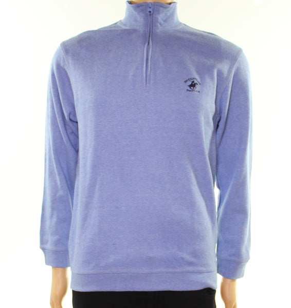 Blue Mens Small 1/2 Zip Sweater $50-