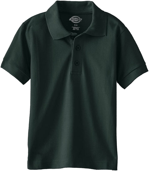 Kid's Boy's Medium Short Sleeve Pique Polo Solid