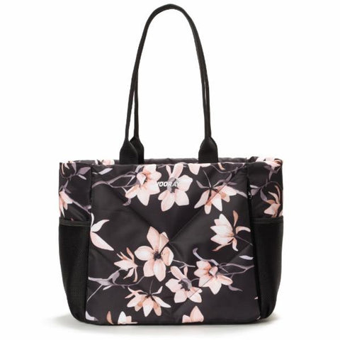 Vooray Aria Tote - Rose Black Print