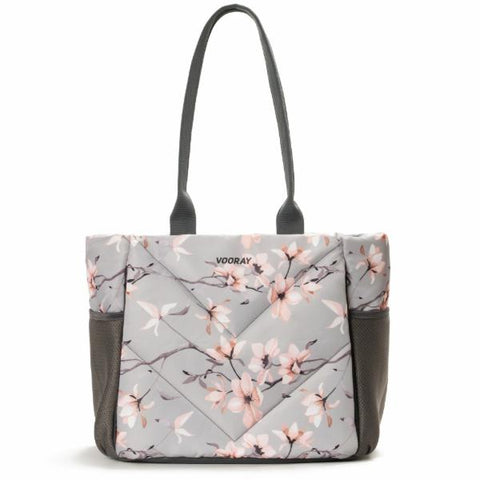 Vooray Aria Tote - Grey Cherry Print