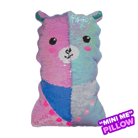 iscream - Mini Llama Sequin Pillow