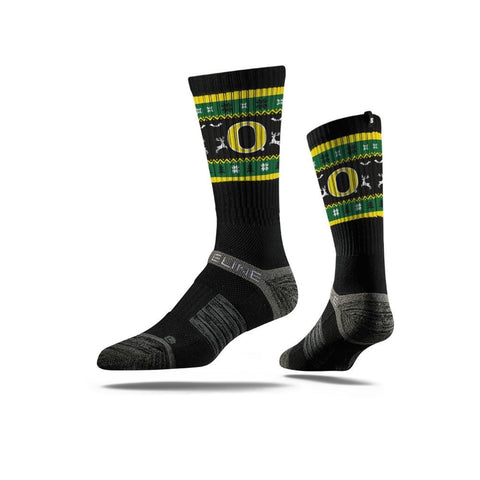 Strideline-University of Oregon Ugly Sweater Sock