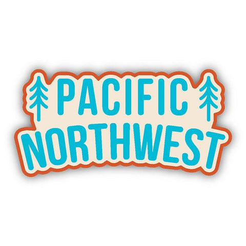 Stickers Northwest - PNW Trees Decal
