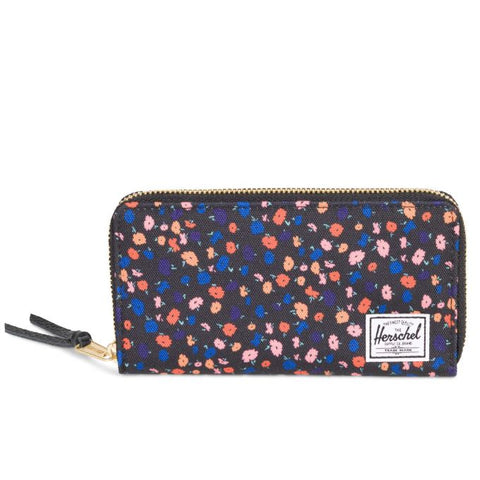 Herschel - Thomas + Wallet-Black Mini Floral