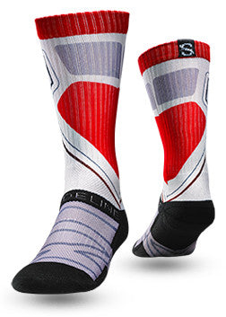 Strideline Sock Optics RED