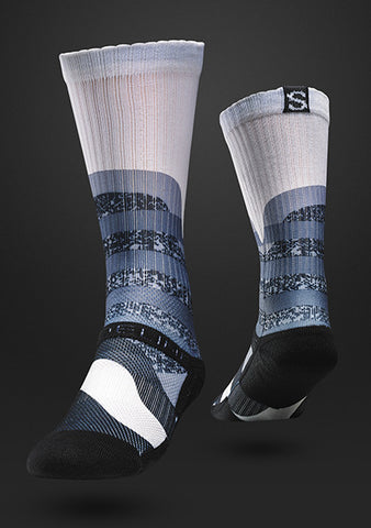 Strideline Sock Optics WHITE