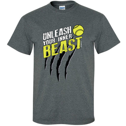Image Sport - Unleash Your Beast Softball Shirt