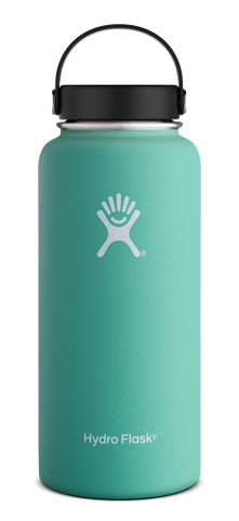 Hydro Flask - 32 oz Wide Mouth Mint Water Bottle