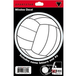 Sport Star Athletics- Volleyball Decal