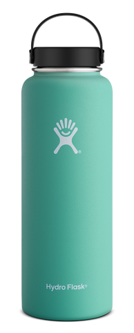 Hydro Flask - 40 oz Wide Mouth Mint Water Bottle