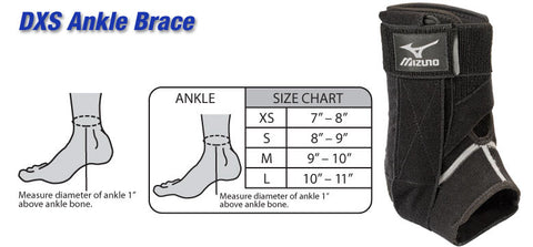 Mizuno - DXS Ankle Brace Right