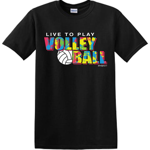 Image Sport - Splatter Volleyball Shirt