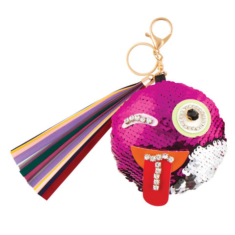 Fashion Angels-Jeweled Emoji Bag Charm