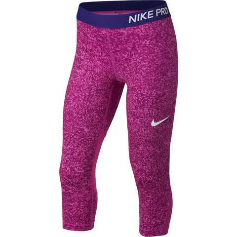 Nike - Youth Pro Printed Capris
