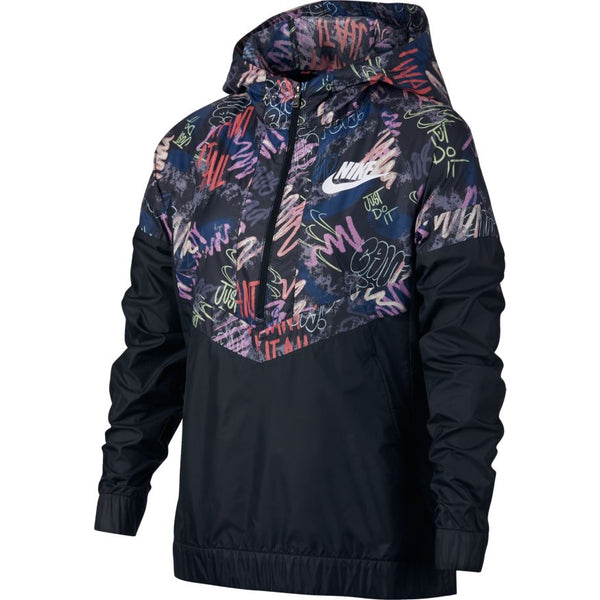 Nike - Girl s Printed Windrunner Jacket bf50dc134fb