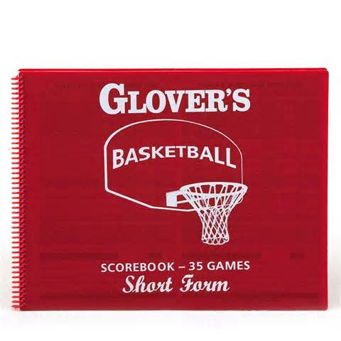 Basketball Short Form Scorebook