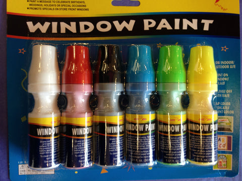 Carnival Source Window Paint