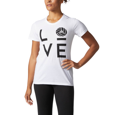 adidas - Graphic Volleyball Short Sleeve Tee
