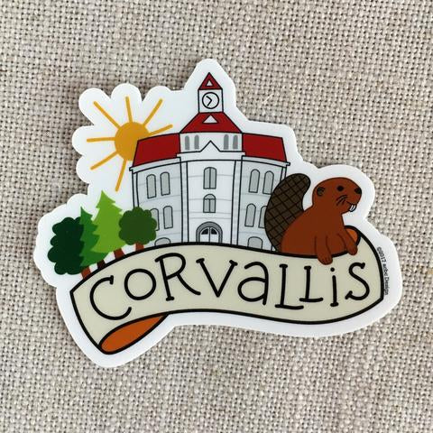 acbcDesign - Corvallis Vinyl Sticker
