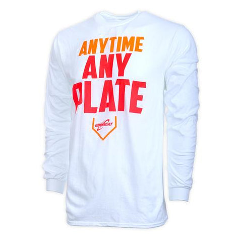 Gimmedat - Any Time Any Plate Long Sleeve Shirt