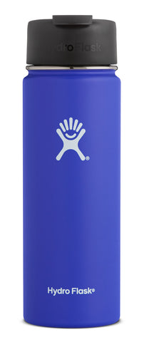 Hydro Flask - 20 oz Wide Mouth Blueberry Water Bottle
