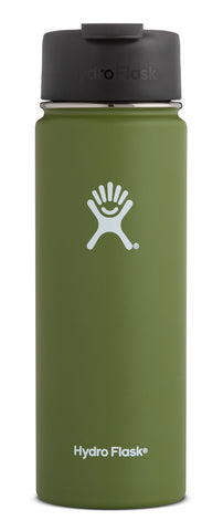 Hydro Flask - 20 oz Wide Mouth Olive Water Bottle