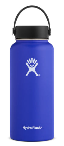 Hydro Flask - 32 oz Wide Mouth Blueberry Water Bottle