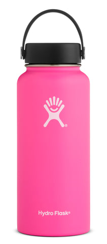 Hydro Flask - 32 oz Wide Mouth Flamingo Water Bottle