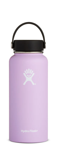 Hydro Flask - 32 oz Wide Mouth Lilac Water Bottle
