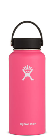 Hydro Flask - 32 oz Wide Mouth Watermelon Water Bottle