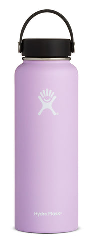 Hydro Flask - 40 oz Wide Mouth Lilac Water Bottle