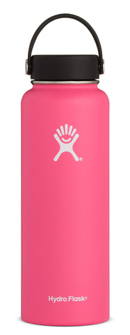 Hydro Flask - 40 oz Wide Mouth Watermelon Water Bottle