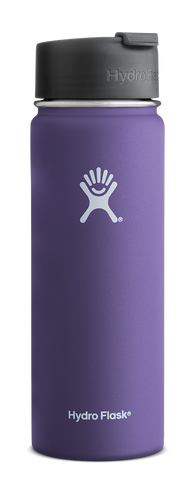Hydro Flask - 20 oz Wide Mouth Plum Water Bottle