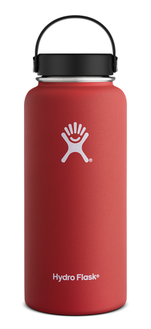 Hydro Flask - 32 oz Wide Mouth Lava Water Bottle