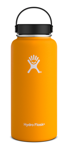Hydro Flask - 32 oz Wide Mouth Mango Water Bottle