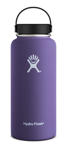 Hydro Flask - 32 oz Wide Mouth Plum Water Bottle