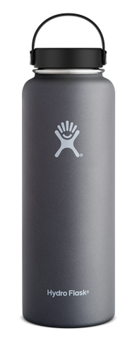Hydro Flask - 40 oz Wide Mouth Graphite Water Bottle