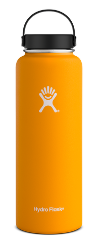 Hydro Flask - 40 oz Wide Mouth Mango Water Bottle