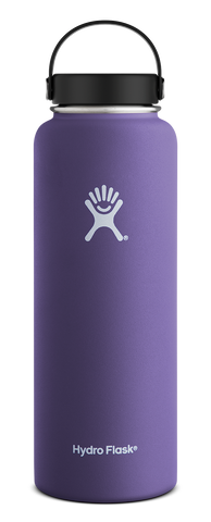 Hydro Flask - 40 oz Wide Mouth Plum Water Bottle