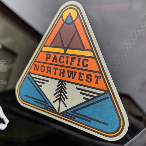 Stickers Northwest - PNW Triangle Decal
