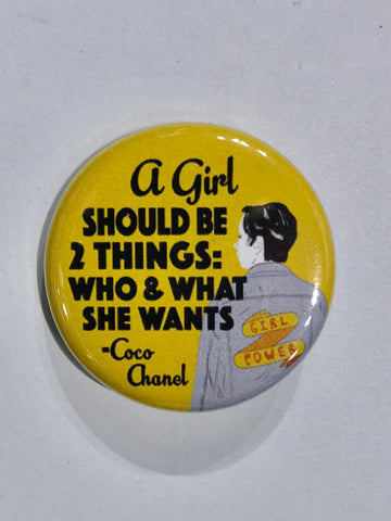 Well...This Is Awkward - 2 Things Button Pin