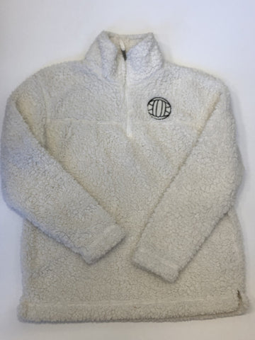 Aries Apparel - Volleyball Sherpa 1/4 Zip Pullover