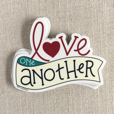"acbcDesign - ""Love One Another"" Vinyl Sticker"