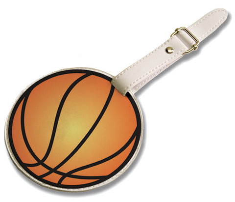 Tandem Sport Basketball Luggage Tag