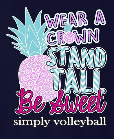 Victory Sportswear - Volleyball Pineapple Tee