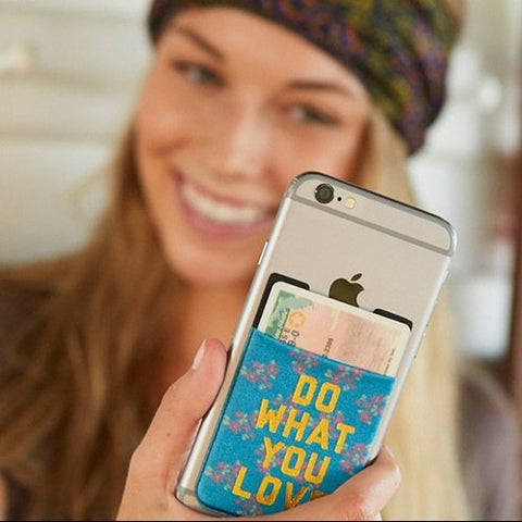 Natural Life - Do What You Love Phone Pocket