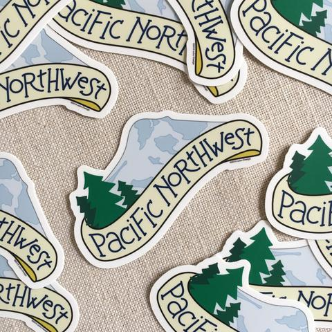 acbcDesign - Pacific Northwest Vinyl Sticker